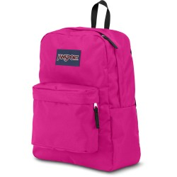 JANSPORT SUPERBREAK CYBER PINK T501O1B