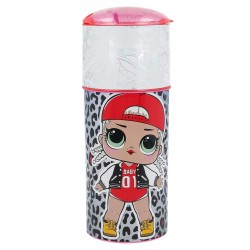 TAROS STOR FASHION CHARACTER SIPPER BOTTLE LOL SURPRISE BORN TO ROCK