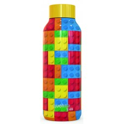 QUOKKA STAINLESS STEEL BOTTLE SOLID COLOR BRICKS 510 ML