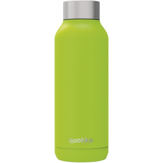 QUOKKA STAINLESS STEEL BOTTLE SOLID LIME 510 ML