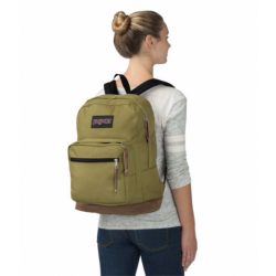 JANSPORT RIGHT PACK OLIVE ( TYP731B )