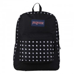 JANSPORT SUPERBREAK BLACK SKETCH DOT T5014J6