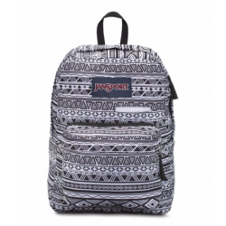 JANSPORT DIGIBREAK B&WJAZZY GEO ( T50F0GT )